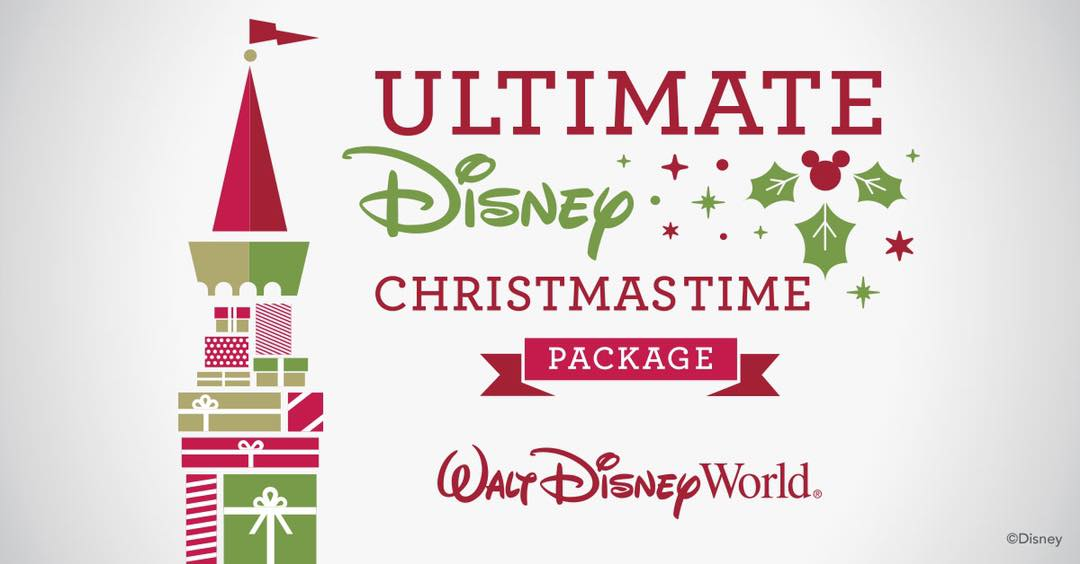 2018 WDW Ultimate Christmas Package NOW